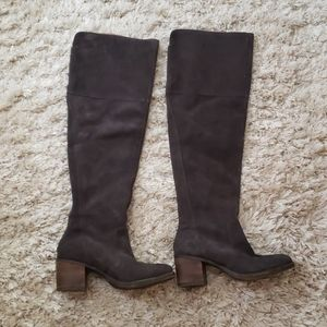 Lucky Brand Over The Knee tall Brown boots